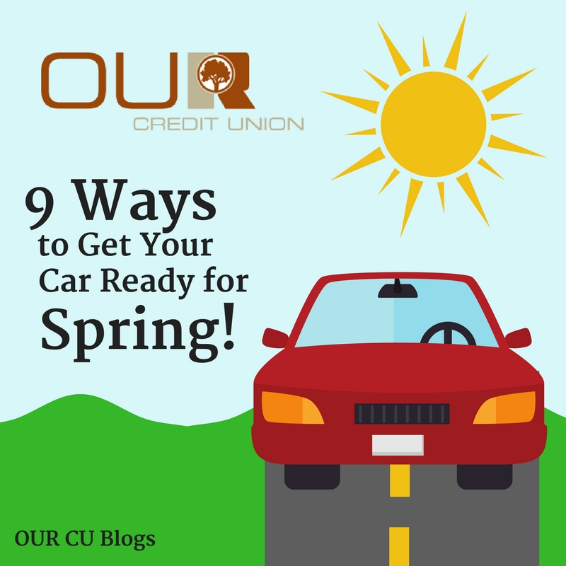 9 Ways to Get Your Car Ready for Spring Graphic