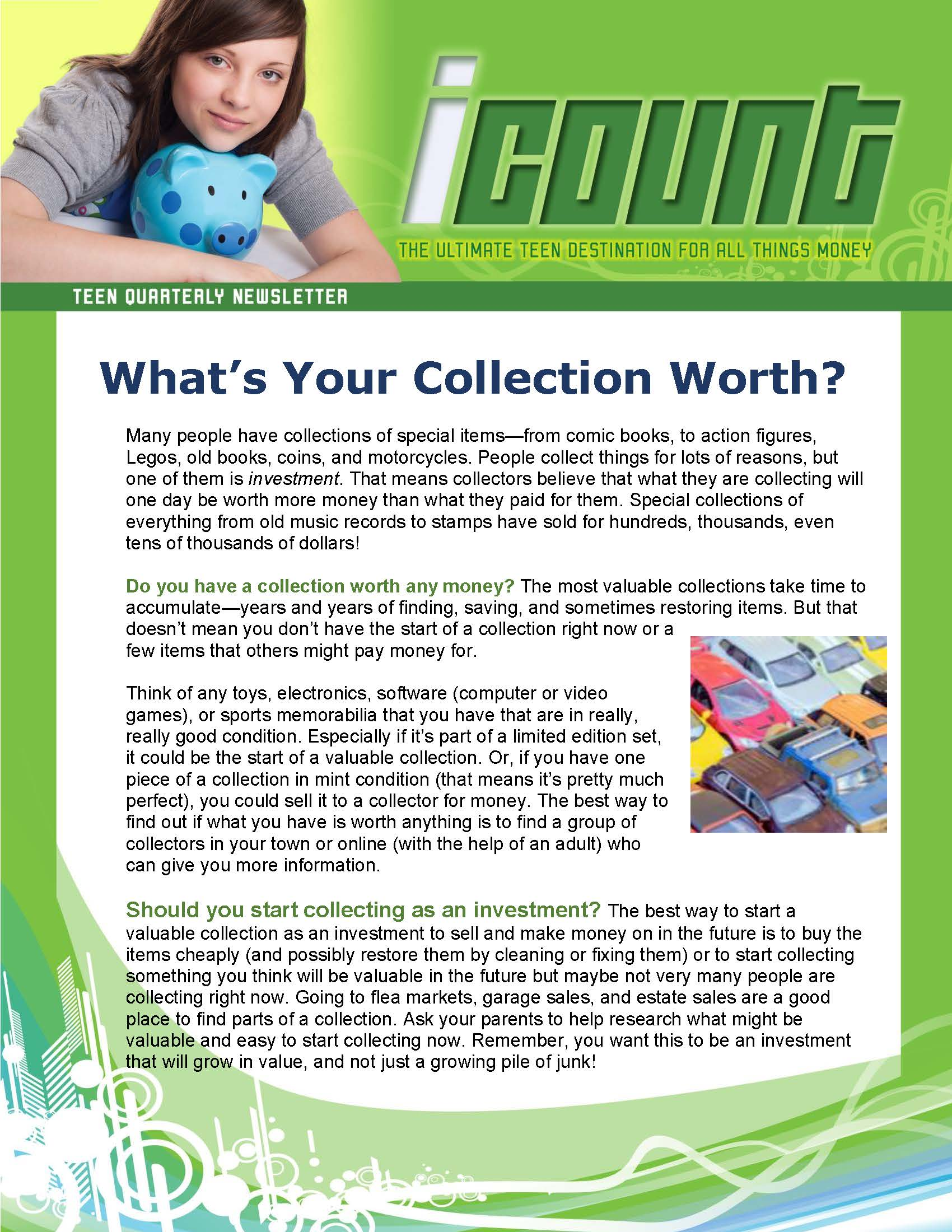 4957f89034 What s Your Collection Worth  And...New Activities to Try This ...
